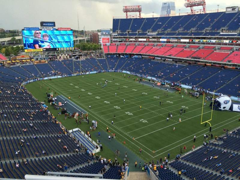 Seating view for Nissan Stadium Section 303 Row K Seat 4