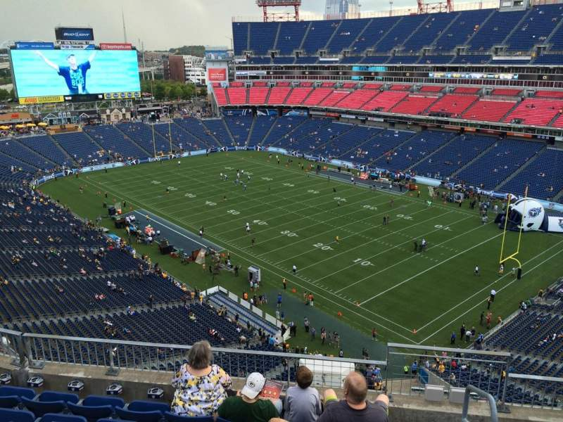 Seating view for Nissan Stadium Section 304 Row K Seat 3