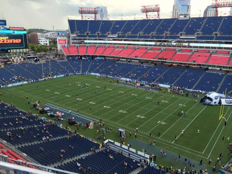 Seating view for Nissan Stadium Section 306 Row K Seat 6