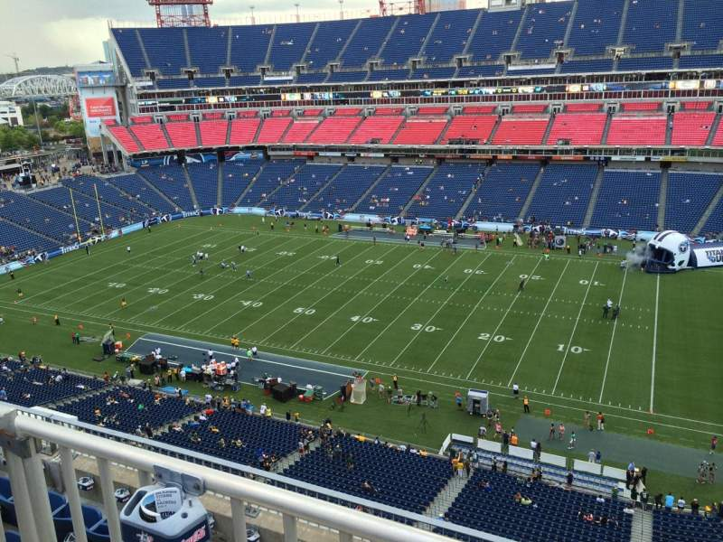 Seating view for Nissan Stadium Section 308 Row K Seat 5