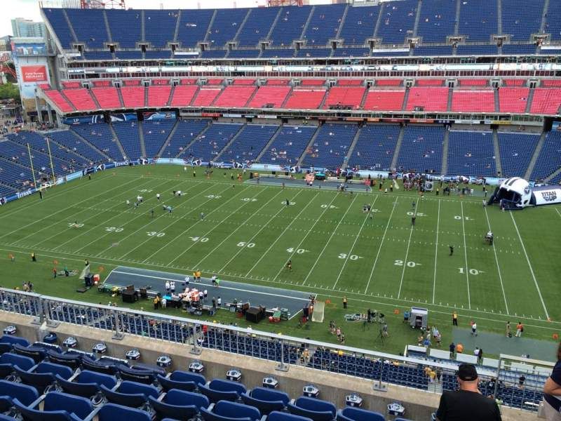 Seating view for Nissan Stadium Section 309 Row G Seat 3