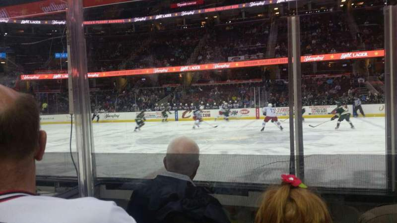 Seating view for Quicken Loans Arena Section 109 Row 4 Seat 6