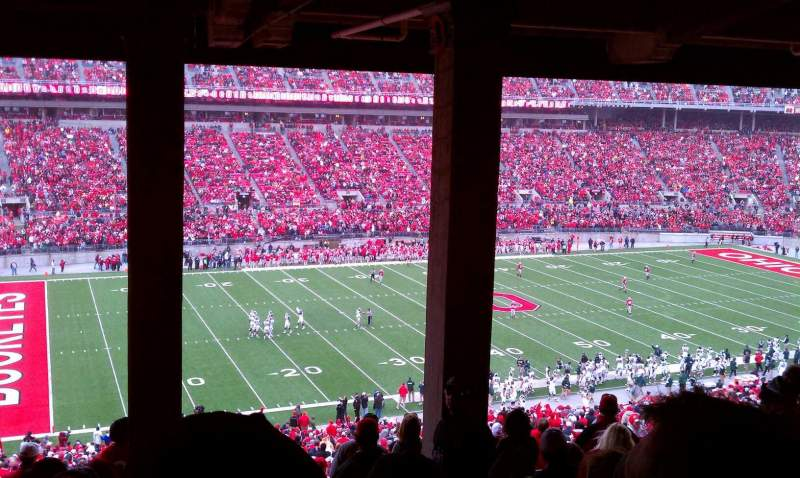 Seating view for Ohio Stadium Section 24B Row 9 Seat 29