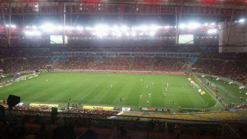 Seating view for Maracanã Stadium Section Press Box
