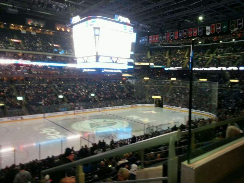 Seating view for Nationwide Arena Section 106 Row Y Seat 8