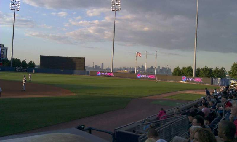 Seating view for Richmond County Bank Ballpark Section 13 Row g Seat 15