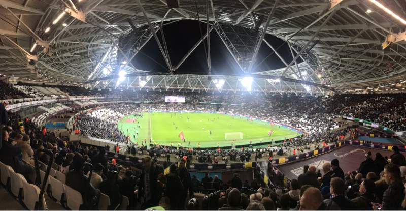 Seating view for London Stadium Section 219 Row 51 Seat 83