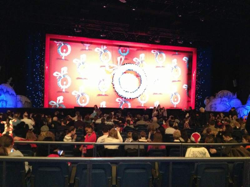 The Theatre At Madison Square Garden Section 201 Row Bb Seat 7 How The Grinch Stole Christmas