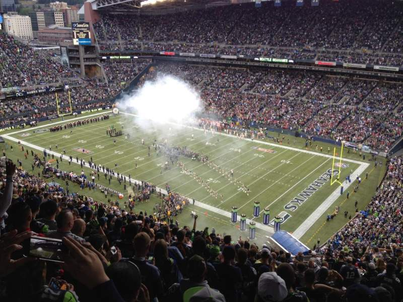 CenturyLink Field, section: 329, row: Z, seat: 4