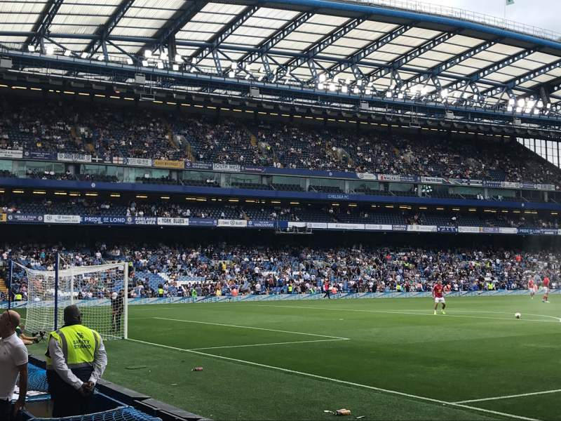 Seating view for Stamford Bridge Section SL2 Row 4 Seat 49