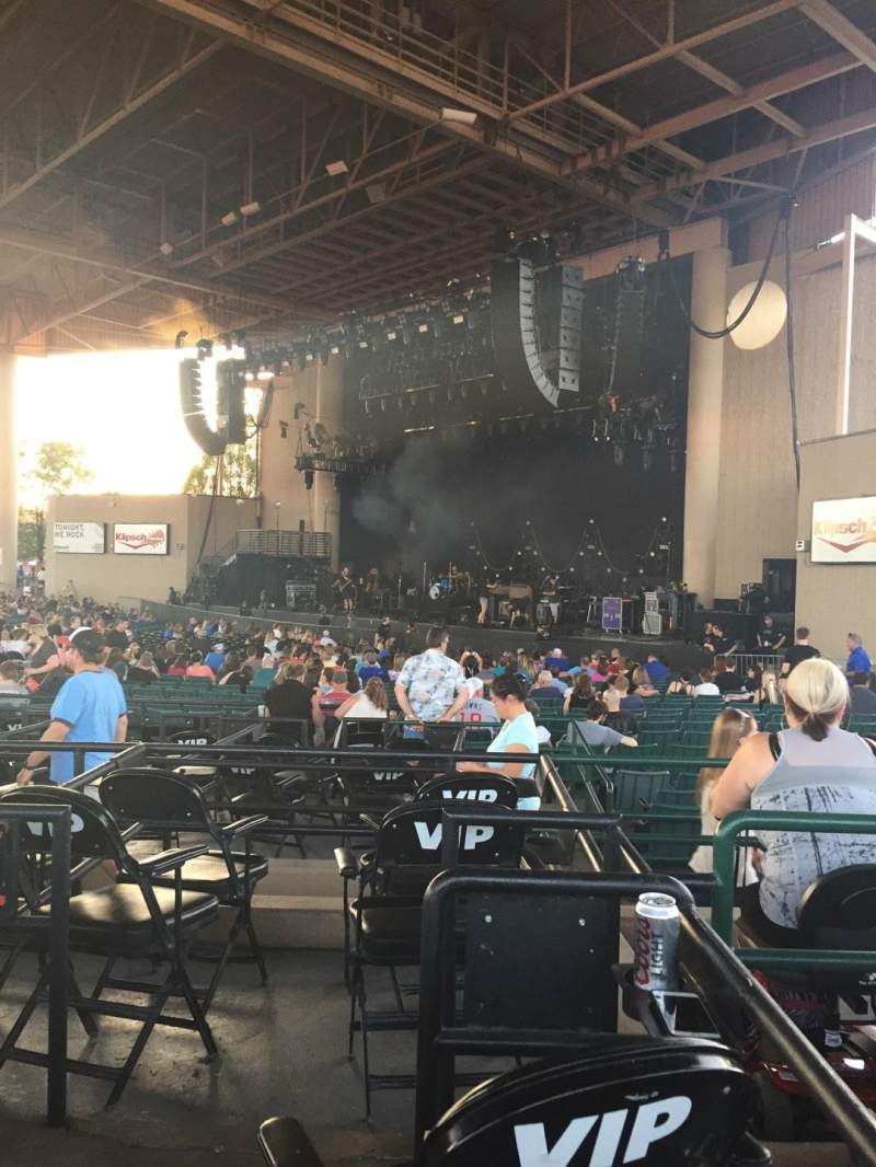 Ruoff Home Mortgage Music Center, section: H, row: E, seat: 14