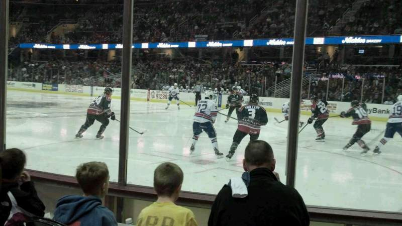 Seating view for Quicken Loans Arena Section 111 Row 4 Seat 10