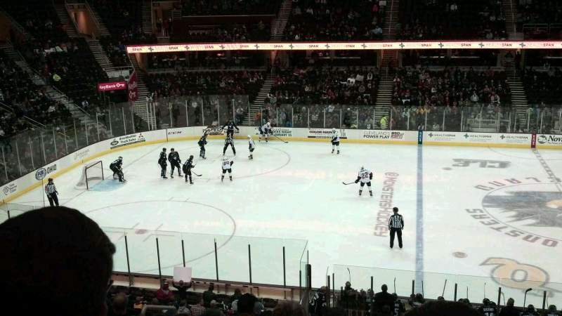 Seating view for Quicken Loans Arena Section C125 Row 23 Seat 4