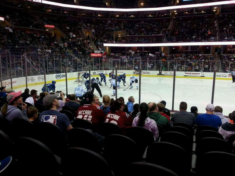 Seating view for Quicken Loans Arena Section 124 Row 9 Seat 12