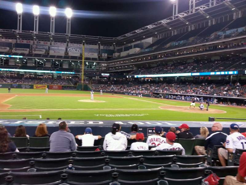 Seating view for Progressive Field Section 162 Row N Seat 4