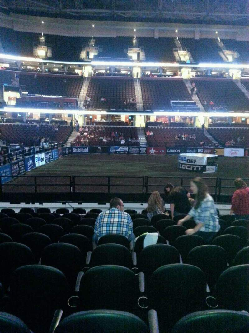 Seating view for Quicken Loans Arena Section 107 Row 11 Seat 13
