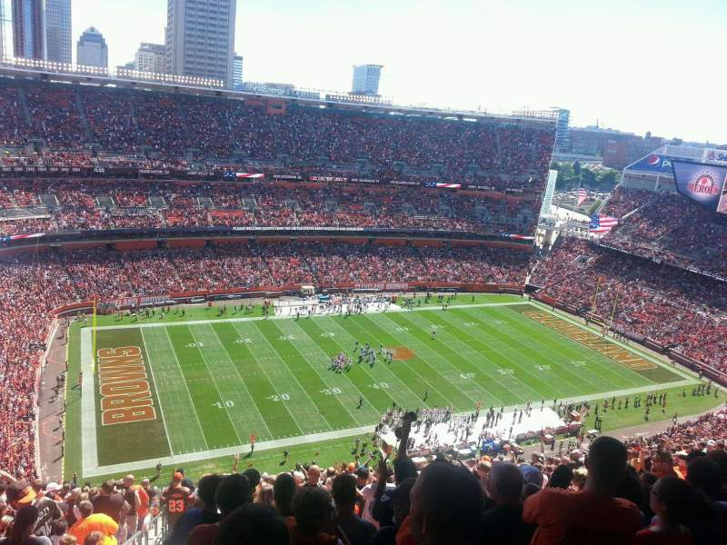 FirstEnergy Stadium, section: 530, row: 31, seat: 1
