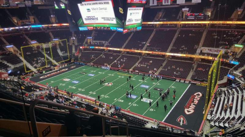 Seating view for Quicken Loans Arena Section 229 Row 9 Seat 4