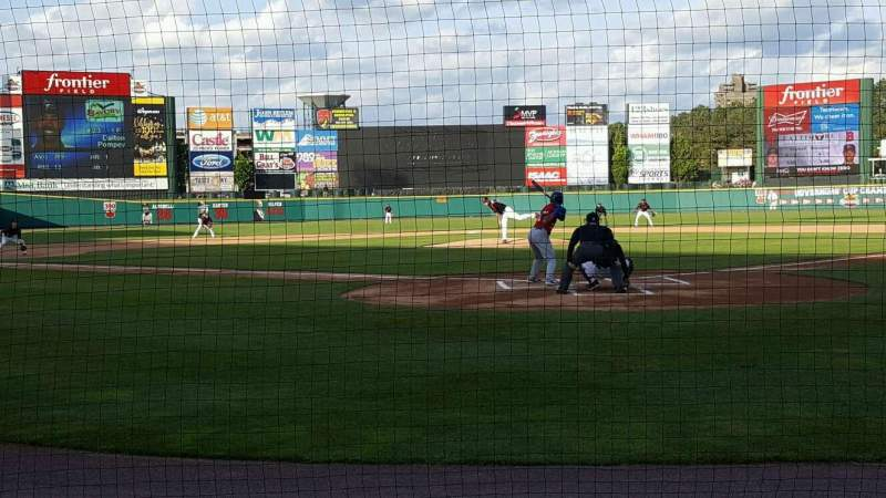 Seating view for Frontier Field Section 116 Row d Seat 2