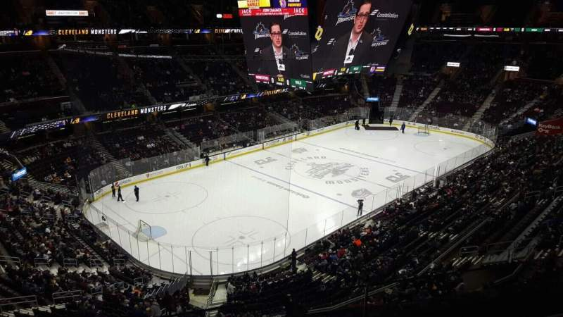 Seating view for Rocket Mortgage FieldHouse Section 228 Row 2 Seat 7