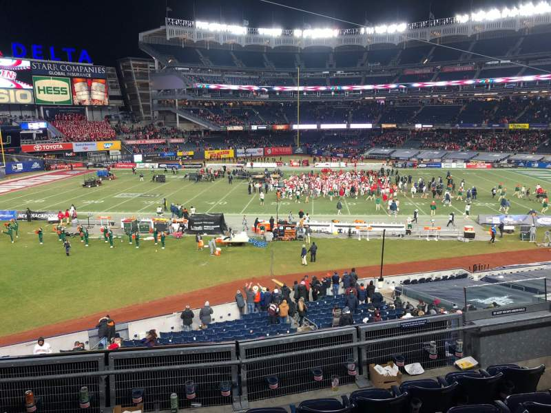 Seating view for Yankee Stadium Section 230 Row 6