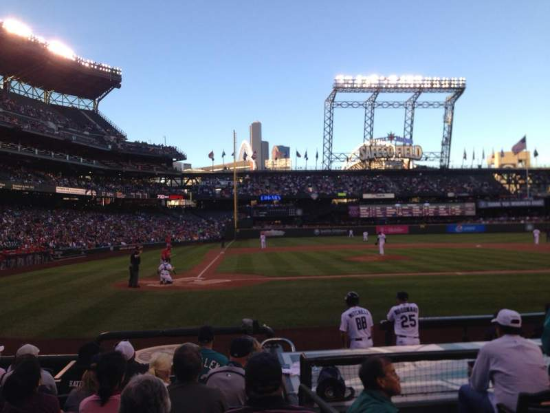 Seating view for Safeco Field Section 125 Row 10 Seat 2