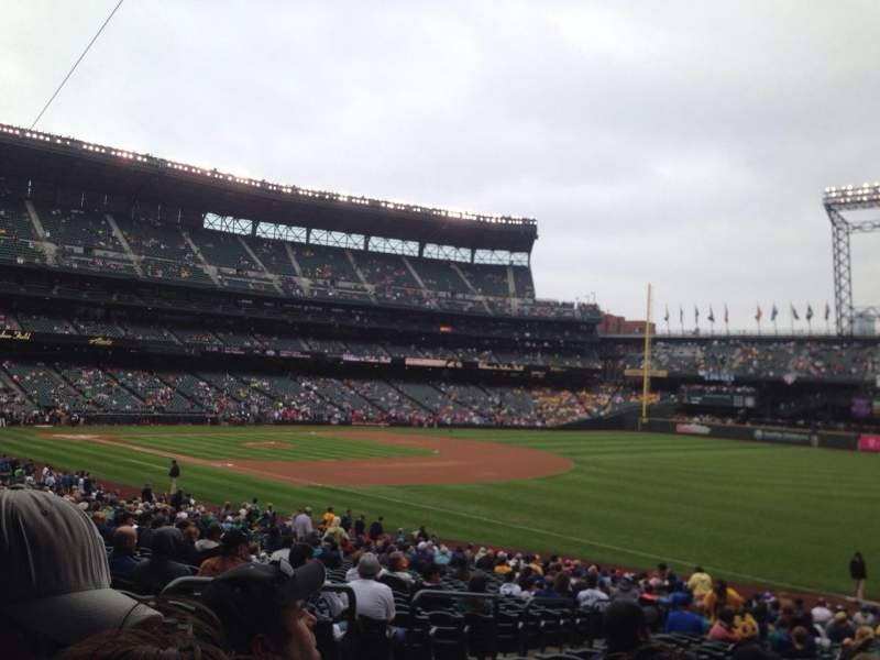 Seating view for Safeco Field Section 115 Row 35 Seat 12