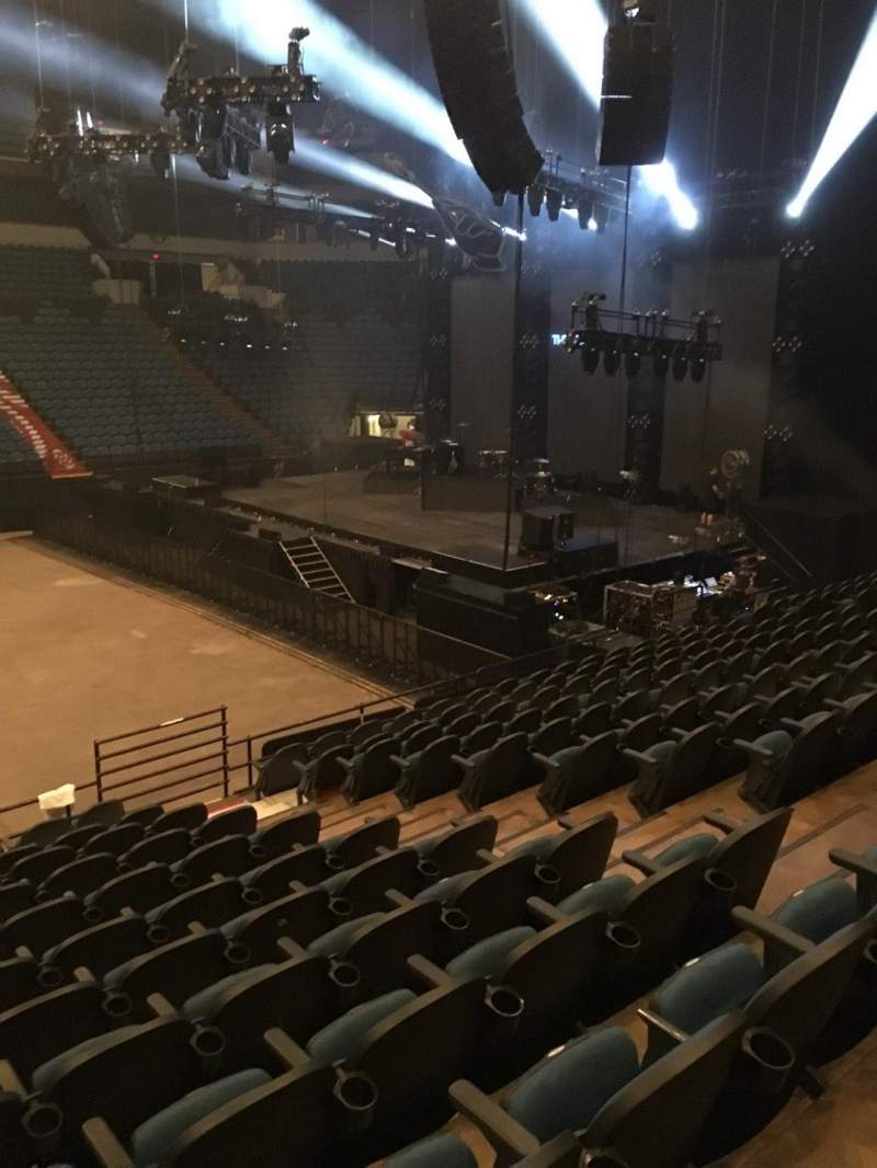 Seating view for U.S. Bank Theater at Target Center Section 131 Row M Seat 7