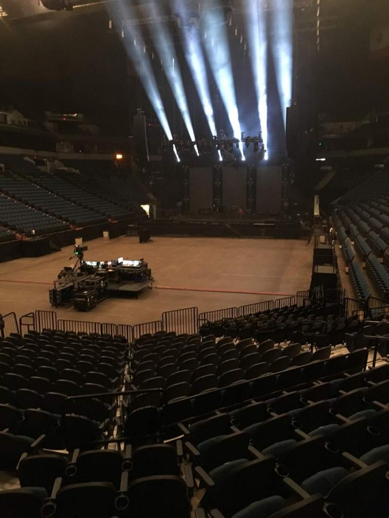 Seating view for U.S. Bank Theater at Target Center Section 138 Row M Seat 12