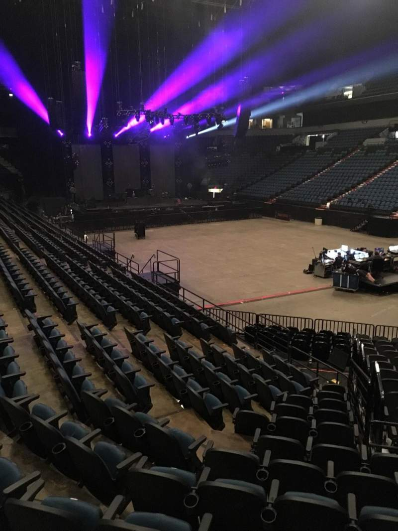 Seating view for U.S. Bank Theater at Target Center Section 106 Row M Seat 7