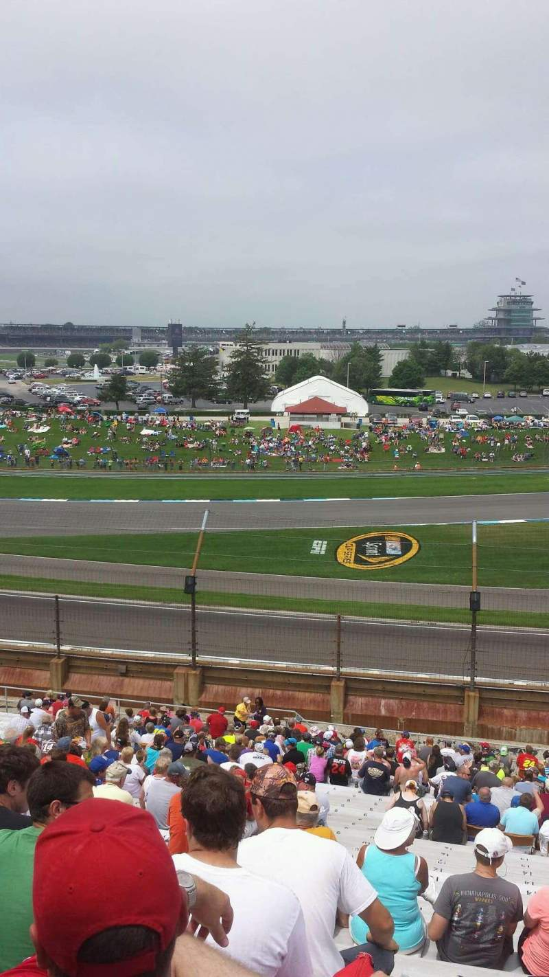 Seating view for Indianapolis Motor Speedway Section 32 Row QQ Seat 13