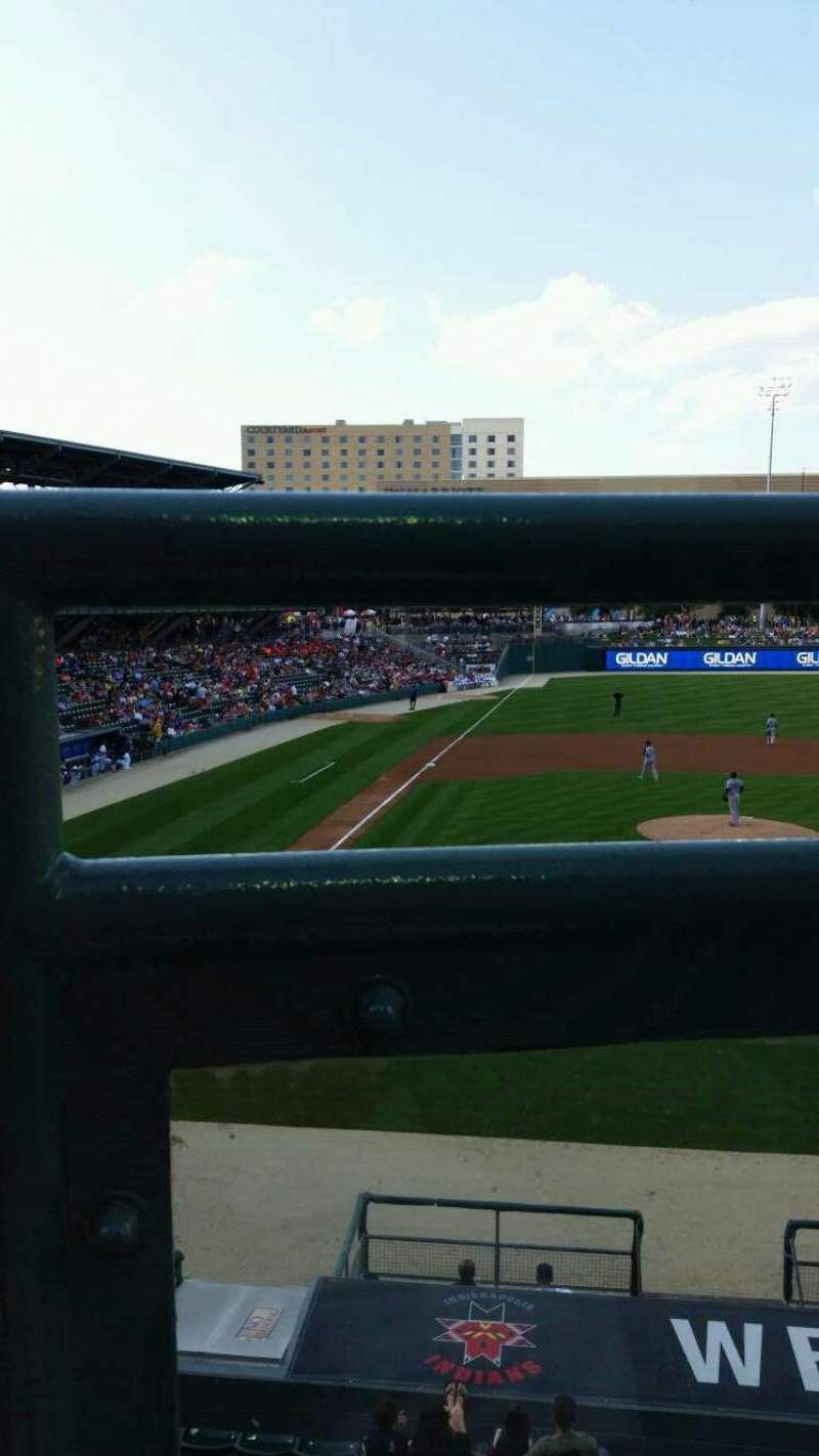 Seating view for Victory Field Section 213 Row A Seat 12