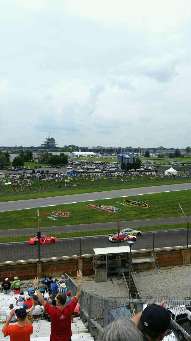 Seating view for Indianapolis Motor Speedway Section 32 Row QQ Seat 14