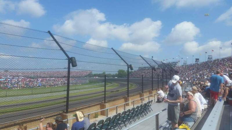 Seating view for Indianapolis Motor Speedway Section 32 Row D Seat 1