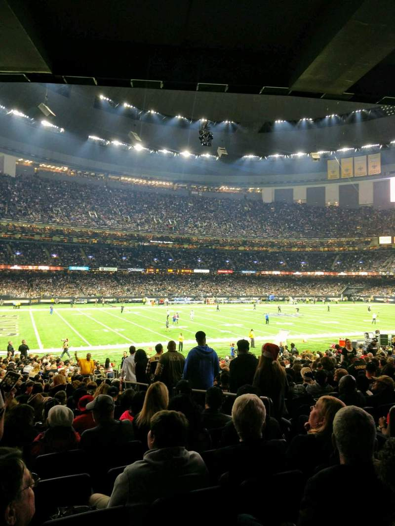 Mercedes-Benz Superdome, section: 119, row: 28, seat: 5