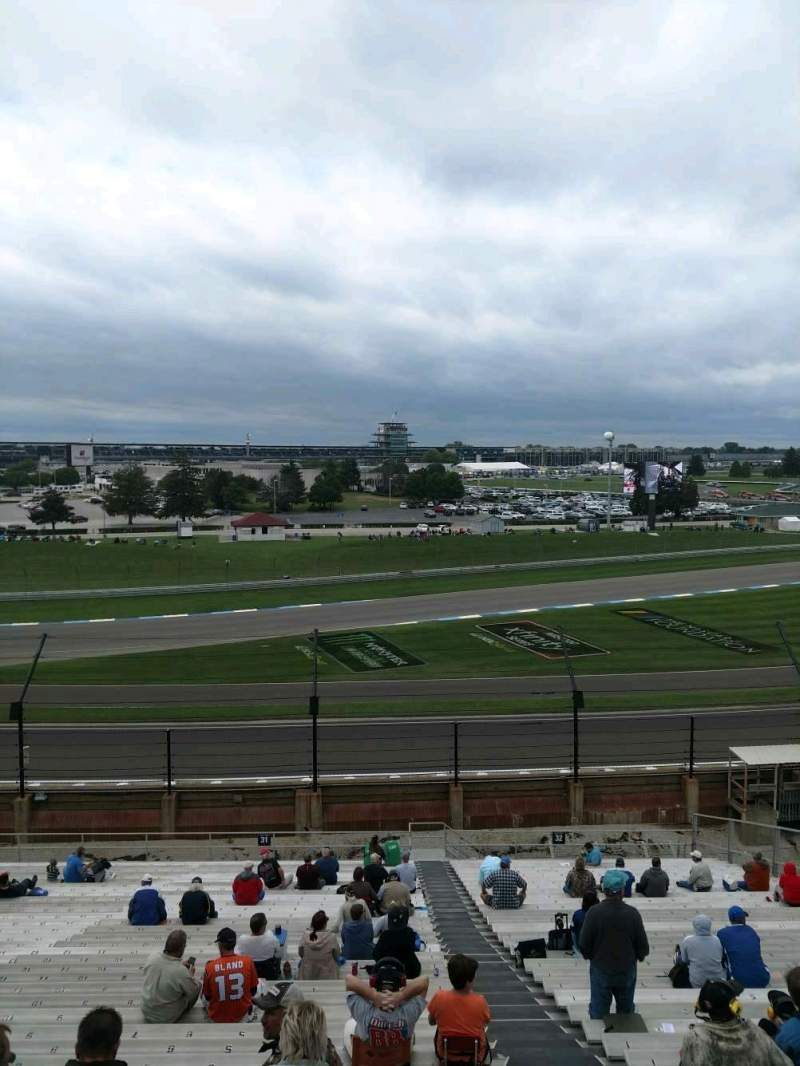 Seating view for Indianapolis Motor Speedway Section 31 Row QQ Seat 2
