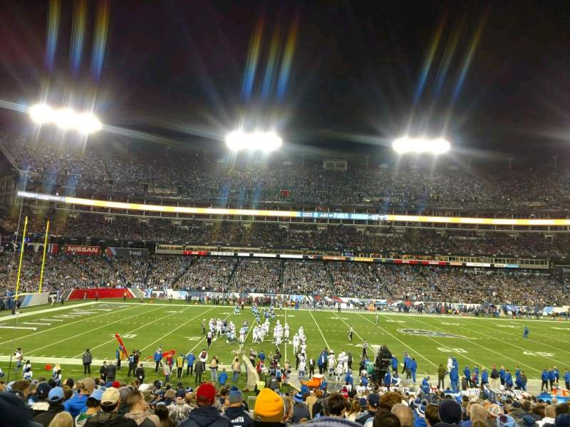 Seating view for Nissan Stadium Section 113 Row CC Seat 24