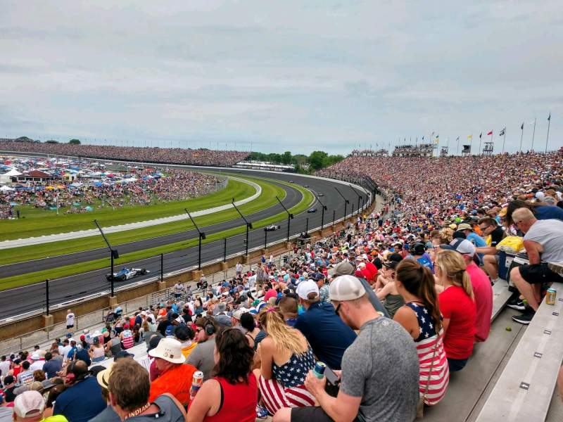 Seating view for Indianapolis Motor Speedway Section 32 Row KK Seat 1