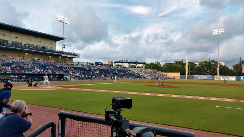 Seating view for MGM Park Section 107 Row C Seat 8