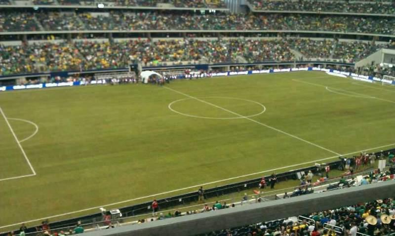 AT&T Stadium, section: C314, row: 1, seat: 10