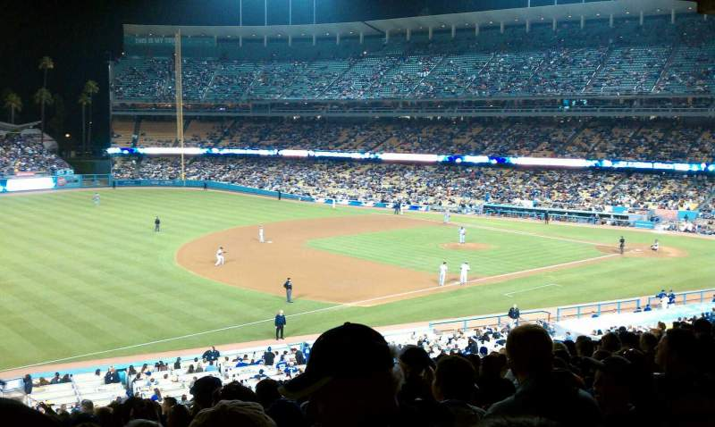Seating view for Dodger Stadium Section 29FD Row W Seat 6