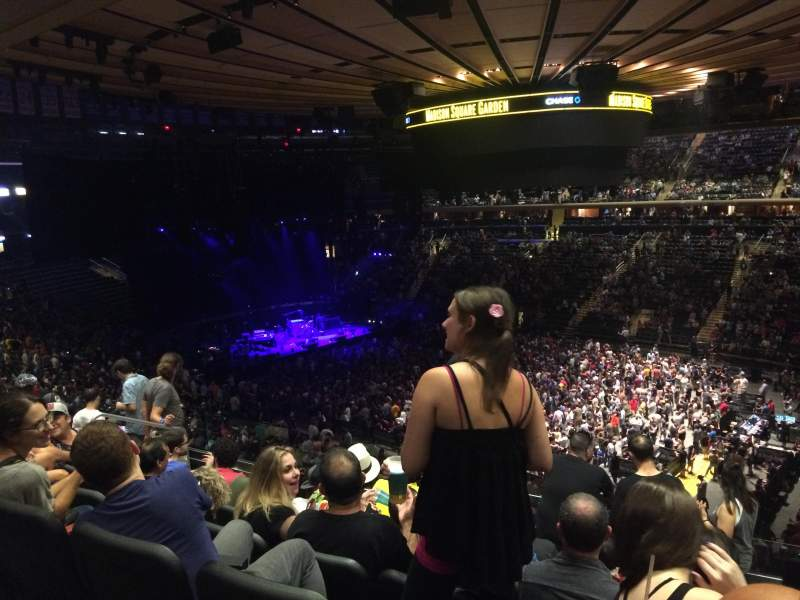 Madison Square Garden Section 216 Row 7 Seat 10 Phish Tour Bakers Dozen Shared By Randomanne