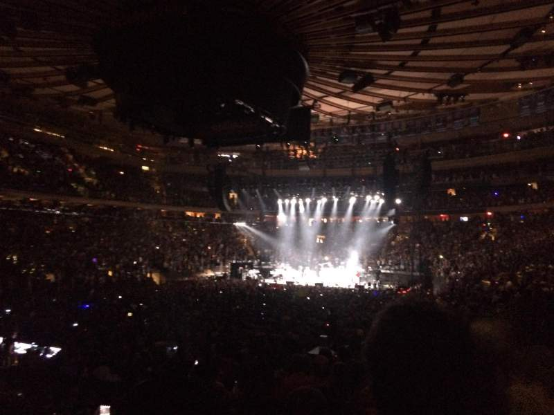 Madison Square Garden, section: 104, row: 10, seat: 13
