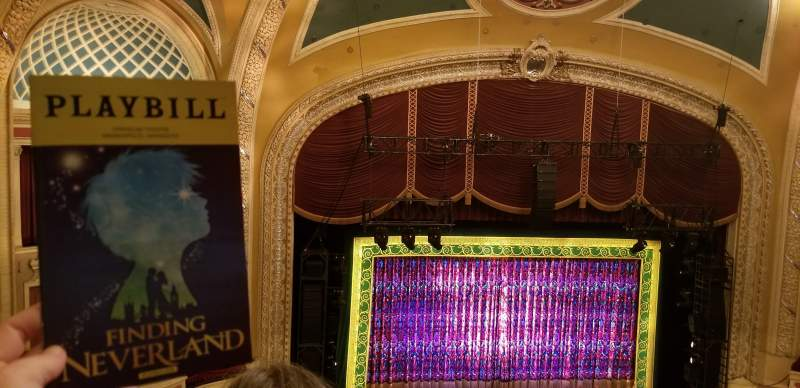 Seating view for Orpheum Theatre (Minneapolis) Section Balcony 7 Row U Seat 5