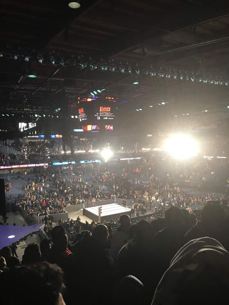 Seating view for Allstate Arena Section 216 Row q  Seat 49