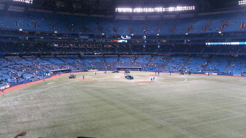 Seating view for Rogers Centre Section 205 Row 5 Seat 1