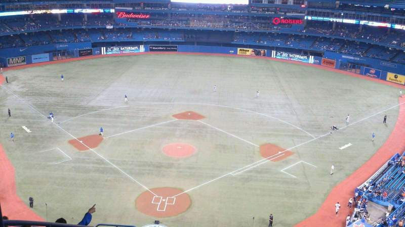 Seating view for Rogers Centre Section 524AR Row 12 Seat 4