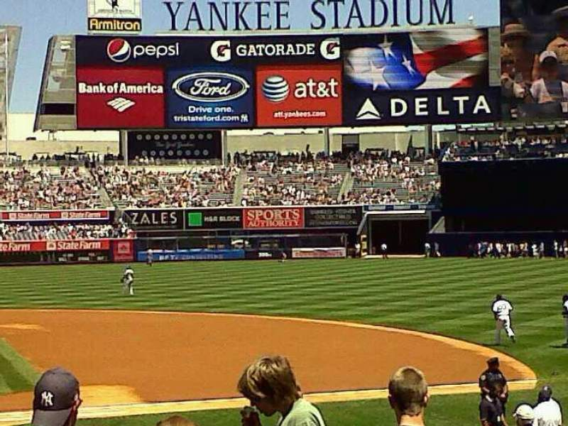Seating view for Yankee Stadium Section 116 Row 10