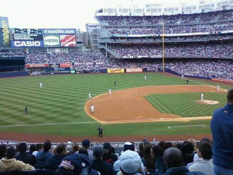 Seating view for Old Yankee Stadium Section 122 Row 10 Seat 8