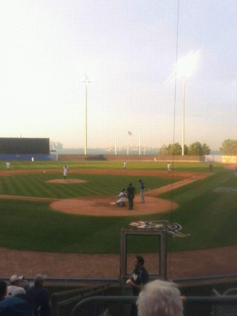 Seating view for Richmond County Bank Ballpark Section 9 Row 6 Seat 1